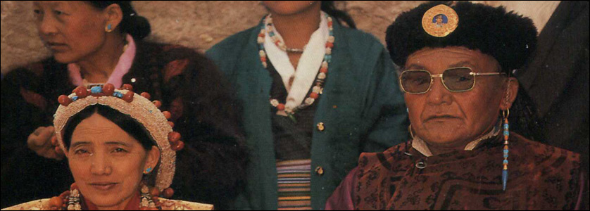 La regina e il re del Mustang, Rani Sahiba Sidol Palbar Bista e Sri Sri Raja Jigme Prabal Bista