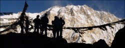 25 marzo 2018 trekking Everest BC in Nepal.