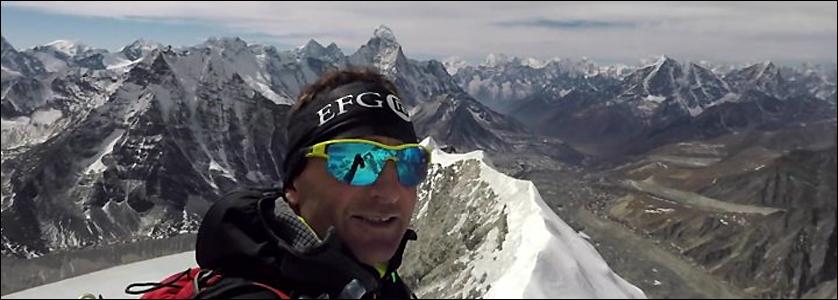 Ueli Steck, tragicamente scomparso il 30 aprile sull'Nupste in Nepal