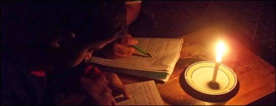 La erogazione di elettircità è spesso interrotto in Nepal