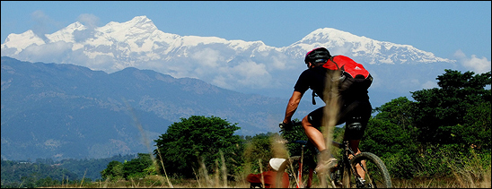 Ecologia e mountain bike in Nepal : due alleati