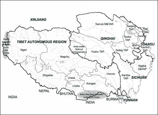 Cartina Dettagliata Del Nepal.Il Tibet In Breve Navyo Nepal Discover Asia